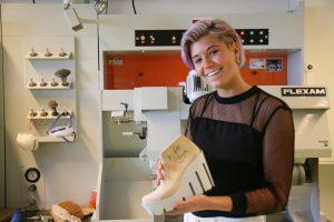 Student Shoe developer, Michelle